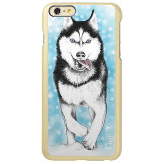Siberian Husky Incipio Feather Shine iPhone 6 Plus Case