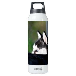 Siberian Husky Insulated Water Bottle
