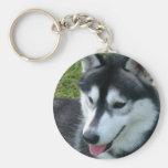 Siberian Husky Keychain