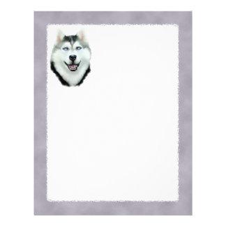 Siberian Husky Letterhead