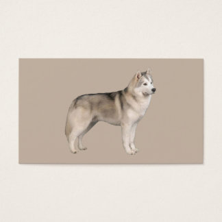 Siberian Husky Lover Business Card
