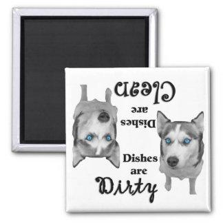 Siberian Husky Lovers Dishwasher Magnet