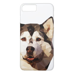 Case-Mate Tough iPhone 7 Plus Case with Siberian Husky Phone Cases design