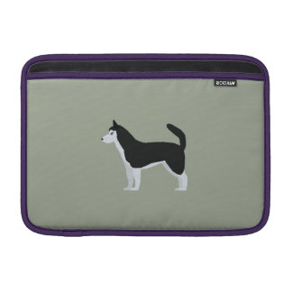 Siberian Husky MacBook Air Sleeve