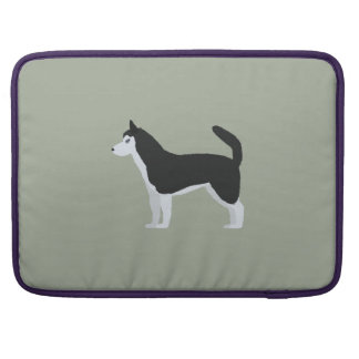 Siberian Husky MacBook Pro Sleeve