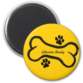 Siberian Husky Magnet