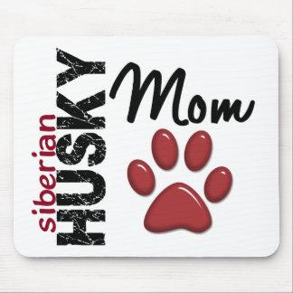 Siberian Husky Mom 2 Mouse Pad