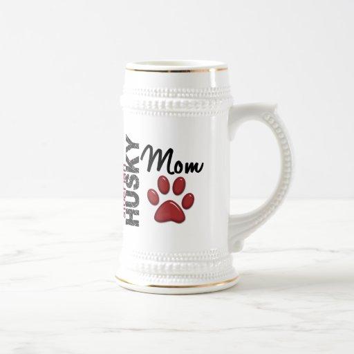 Siberian Husky Mom 2 Mugs