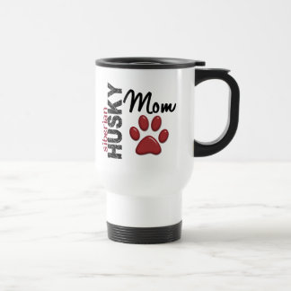 Siberian Husky Mom 2 Travel Mug