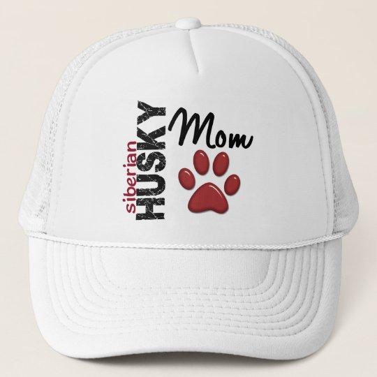 Siberian Husky Mom 2 Trucker Hat