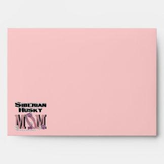 Siberian Husky MOM Envelope
