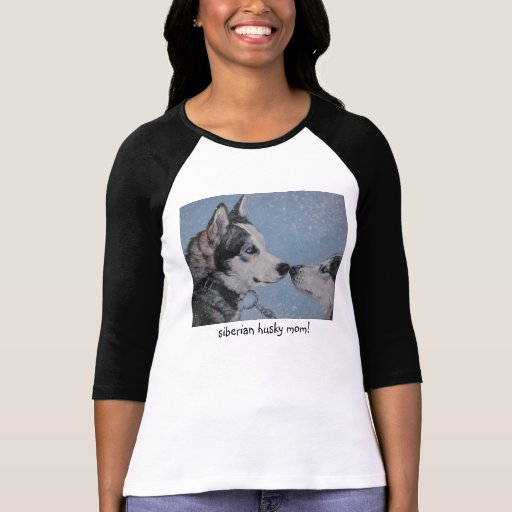 Siberian Husky Mom t-shirt mothers day