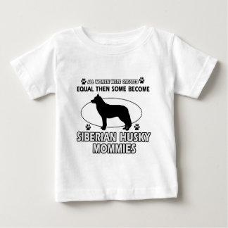 Siberian Husky Mommy designs Tee Shirt