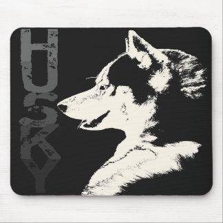 Siberian Husky Mousepad Gifts Malamute Wolf Dogs