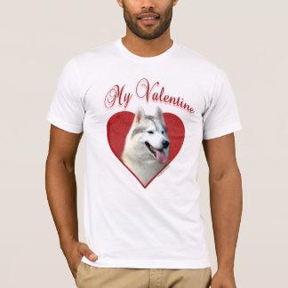 Siberian Husky My Valentine T-Shirt