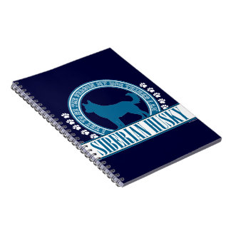 Siberian Husky Note Book