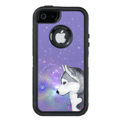 OtterBox Symmetry iPhone SE/5/5s Case with Siberian Husky Phone Cases design