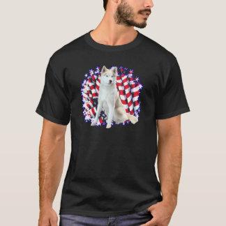 Siberian Husky Patriot T-Shirt