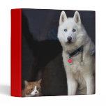 Siberian Husky Photo Binder