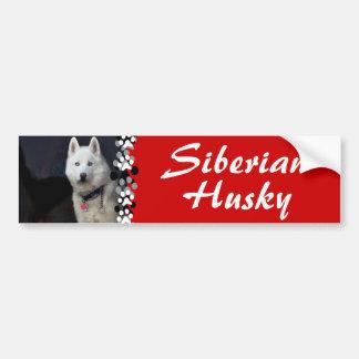 Siberian Husky Photo Bumper Stickers