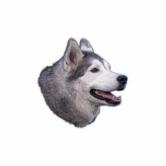 Siberian Husky Photo Statuette