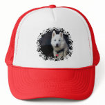 Siberian Husky Photo Trucker Hat