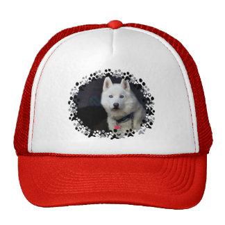 Siberian Husky Photo Trucker Hat