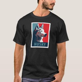 Siberian Husky Political Parody Poster T-Shirt