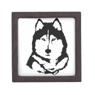 Siberian Husky Premium Jewelry Boxes