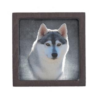 Siberian Husky Premium Keepsake Boxes