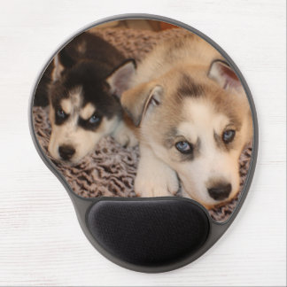 Siberian Husky Pup Mousepad Gel Mouse Pad
