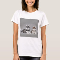 Siberian husky puppies T-Shirt