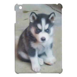 Siberian Husky puppy Cover For The iPad Mini