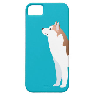Siberian Husky - Red - Breed Template Design iPhone SE/5/5s Case