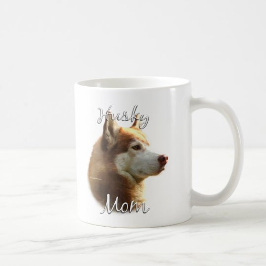 Siberian Husky (red) Mom 2 Coffee Mug