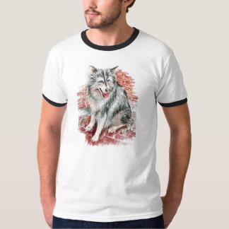 Siberian Husky Ringer T-Shirt