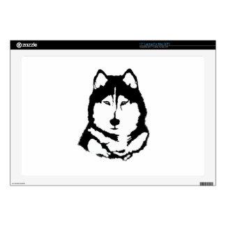 Siberian Husky Decals For Laptops