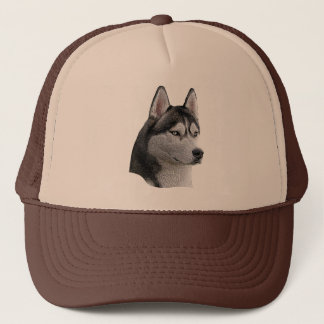 Siberian Husky - Stylized Image - Add Your Text Trucker Hat