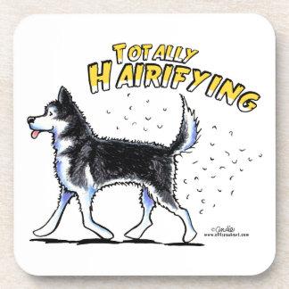 Siberian Husky Totally Hairifying Coaster
