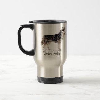 Siberian Husky! Travel Mug