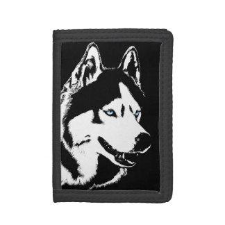 Siberian Husky Wallet Husky Malamute Wallet
