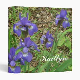 Siberian Iris Binder