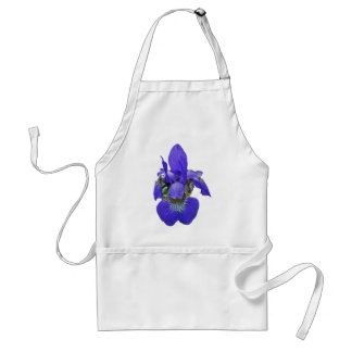 Siberian Iris Coordinating Items Adult Apron