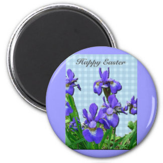 Siberian Iris Happy Easter Coordinated Items Magnets