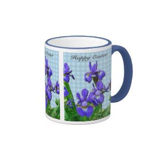 Siberian Iris Happy Easter Coordinated Items Coffee Mug