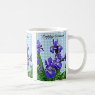Siberian Iris Happy Easter Coordinated Items Coffee Mugs