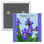 Siberian Iris Happy Easter Coordinated Items Pin