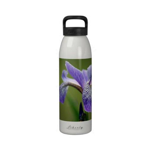 Siberian Iris Water Bottle