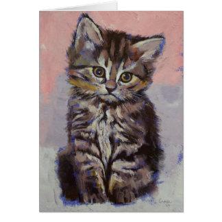 Siberian Kitten Card
