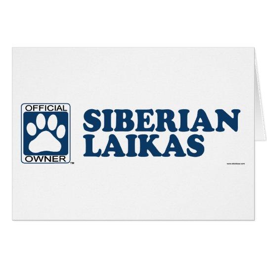 SIBERIAN LAIKAS_blue Card